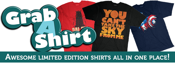 Awesome daily, weekly, limited edition shirts all in one place!