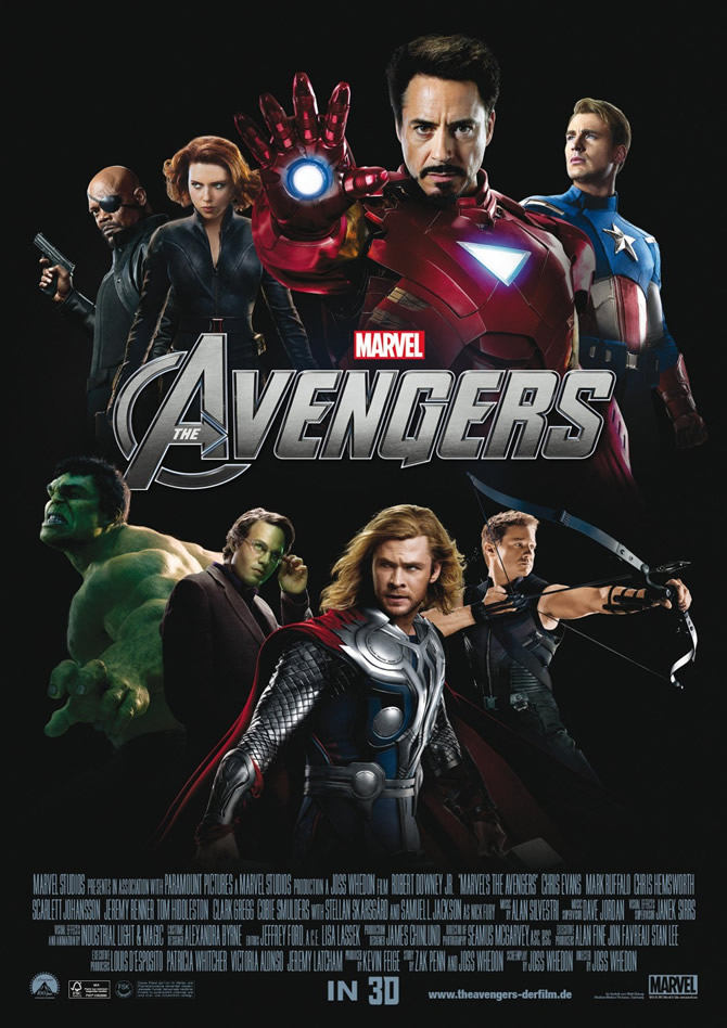 Marvels The Avenger's Movie poster