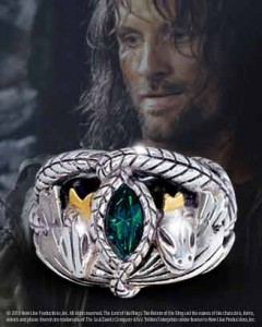 Noble Collection's Ring of Barahir Replica