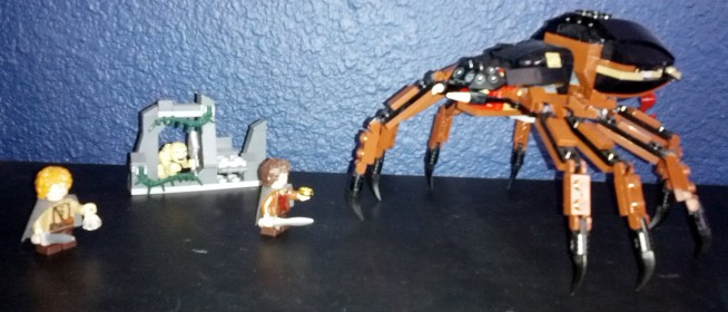 Drunk Lego Building – Lord of the Rings – Shelob Attacks