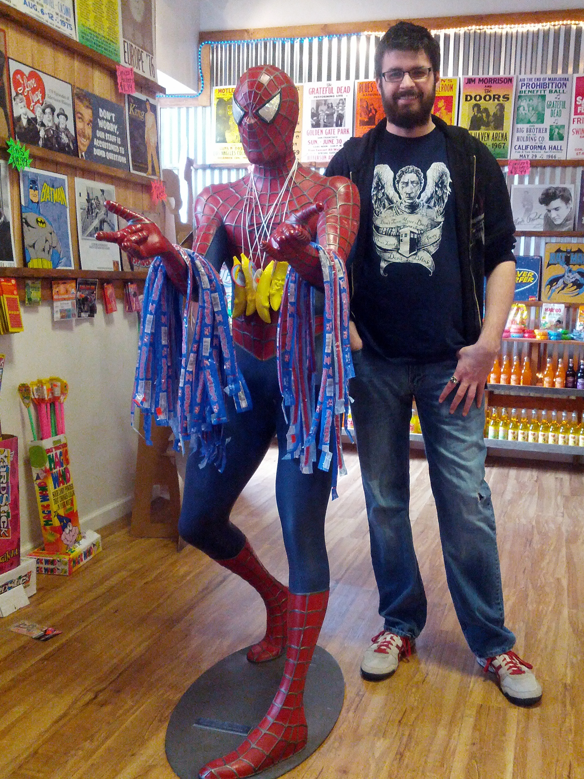 Rocket Fizz has some real cool, geeky stuff inside