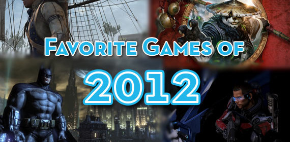 Favorite Video Games of 2012