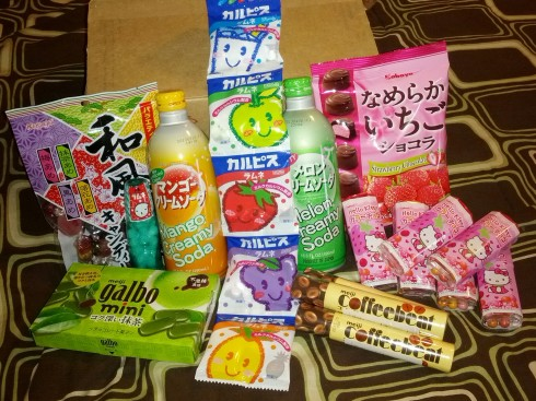 Japanese Snacks from Asian Food Grocer