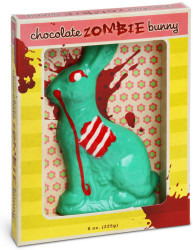 Geeky Easter Chocolate Zombie Bunny