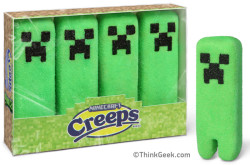 Geeky Easter Marshmallow Creeps