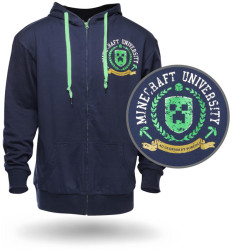 minecraft university hoodie