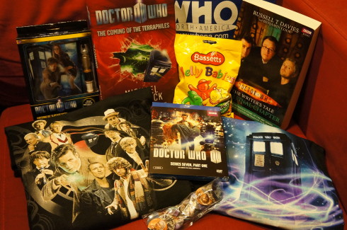 WHO North America Doctor Who loot