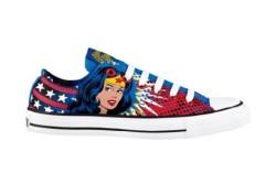 Wonder Woman Converse Chucks Shoes
