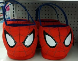 Spiderman Easter basket