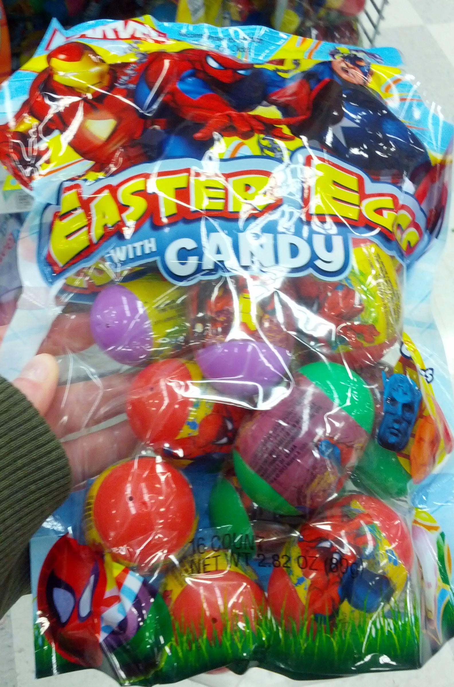 Marvel Superhero Easter Eggs