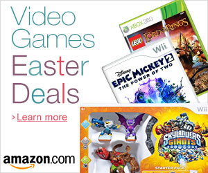 Amazon.com Video Games Easter Deals