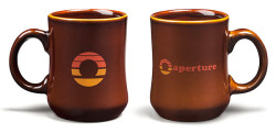70's style Aperture Science Portal Mug
