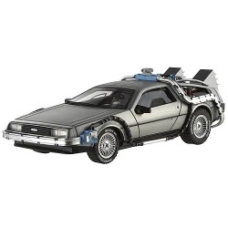 Back to the future delorean geek decoration