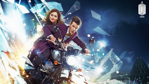 Doctor Who with Matt Smith and Jenna-Louise Coleman