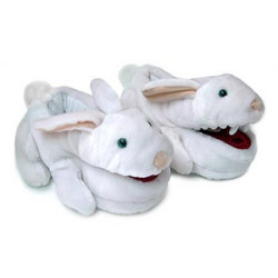 Monty Python Killer Bunny Slippers for a geek easter