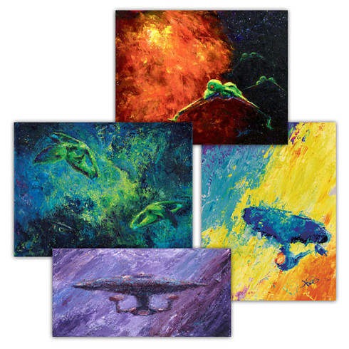 star trek fine art prints geek decorating