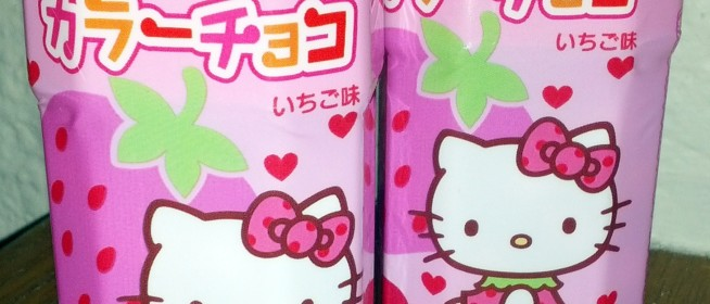 Snack Review: Hello Kitty Strawberry Chocolate Balls