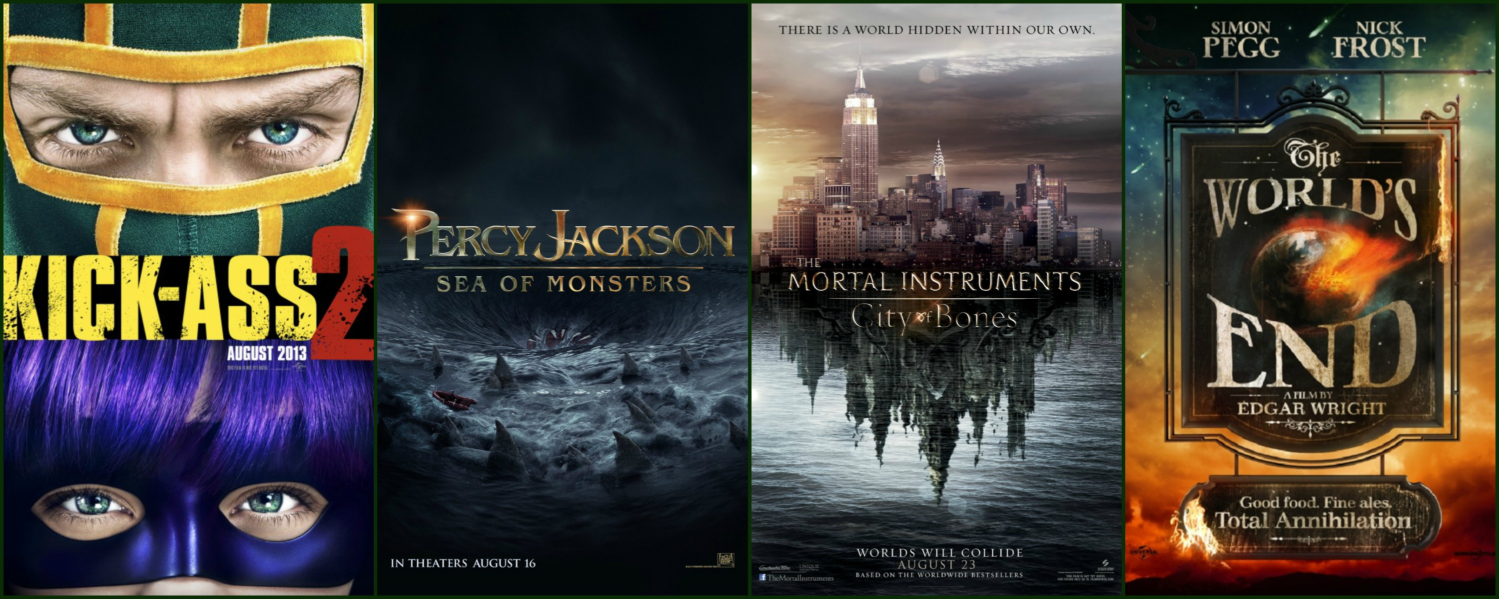 movie posters for august