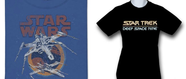 Geek Fashion: Science Fiction Tees