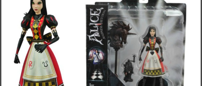 Alice Madness Returns Royal Suit Alice Figure Review