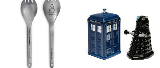 Geek Home Decor: Science Fiction Kitchen