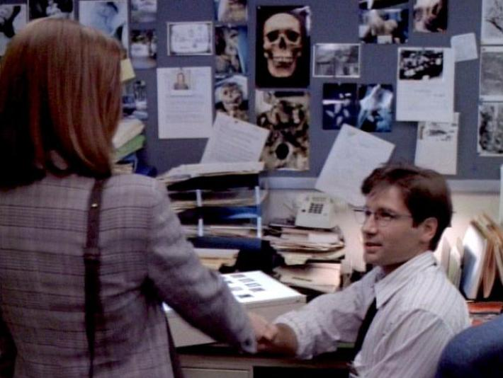 mulder scully meet