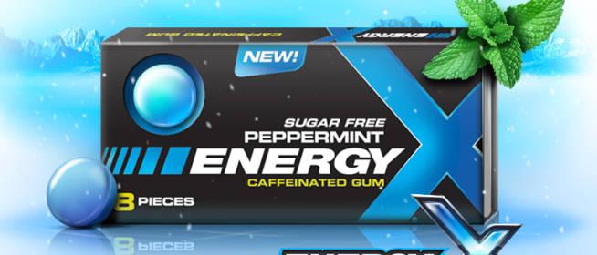 Energy X Caffeinated Gum Review