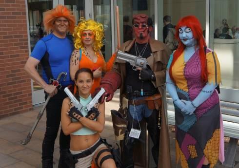 GenCon 2013 cosplay Hellboy Sally Thundercats Lara Croft