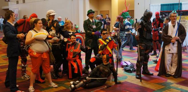 Big cosplay group at GenCon 2013