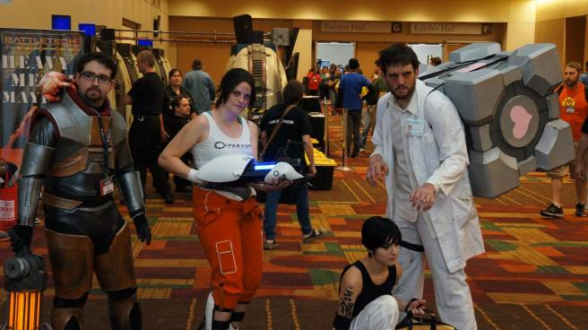 Portal Cosplay and more at Gencon 2013