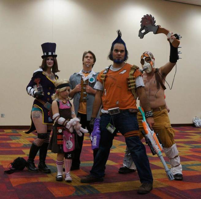 Borderlands Cosplay Gencon 2013
