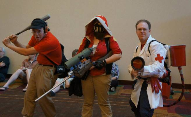 Team Fortress 2 Gencon 2013 Cosplay