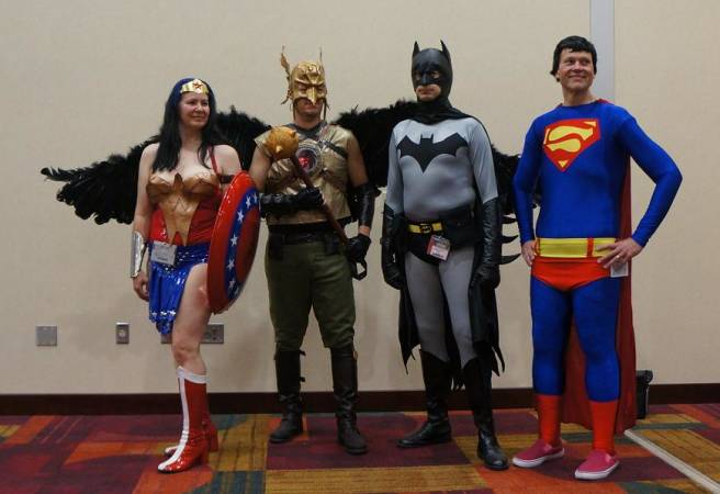 DC Heroes gencon cosplay
