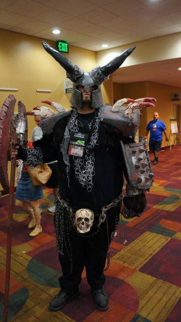Gencon 2013 big scary guy cosplay
