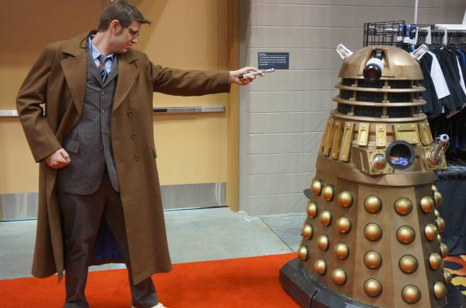 10th Doctor vs a Dalek