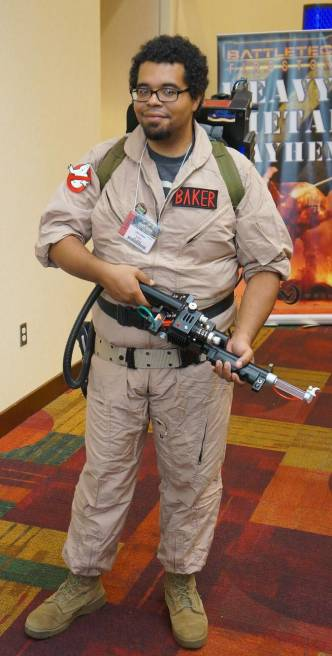 Ghostbusters cosplay gencon