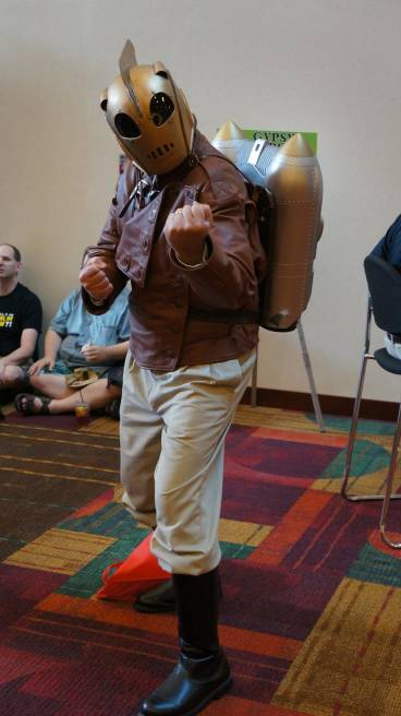 Rocketeer cosplay gencon