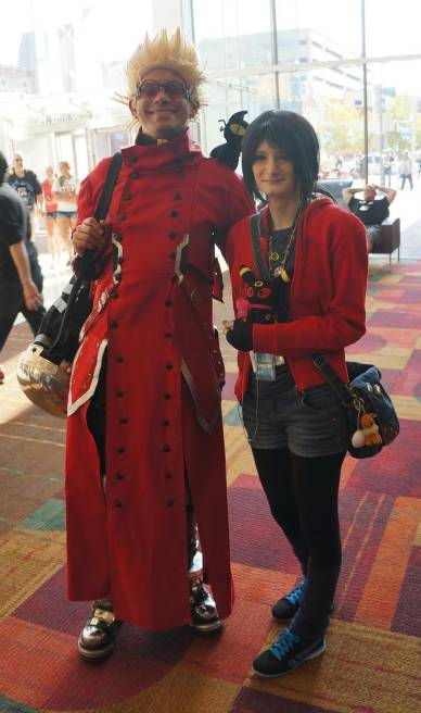 Trigun Vash the Stampede cosplay GenCon 2013