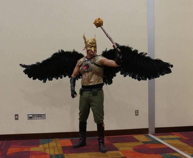 Hawkman Cosplay gencon 2013