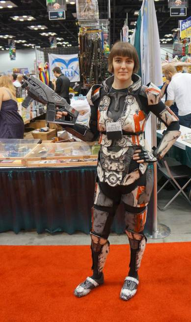 Mass Effect cosplay at gencon 2013