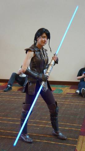GenCon 2013 Star Wars Satele Shan cosplay