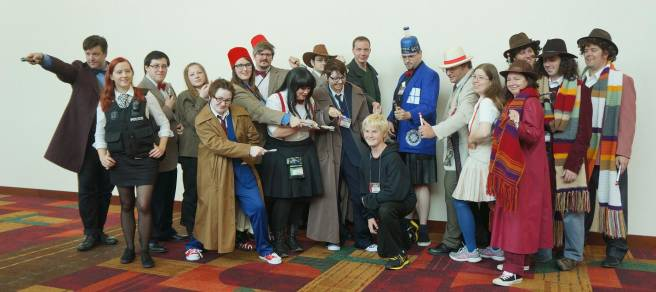 Doctor Who cosplay at gencon