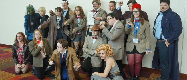 Doctor Who Cosplay at Gen Con 2013