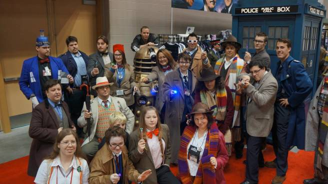 Doctor Who GenCon Cosplay