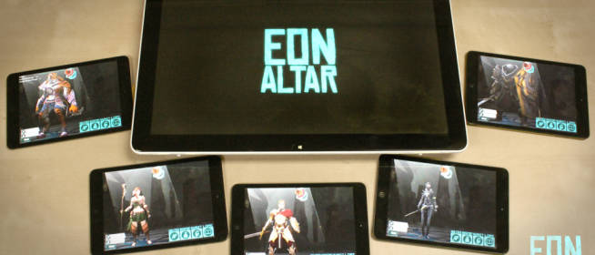 Eon Altar Tabletop Videogame at Gen Con 2013