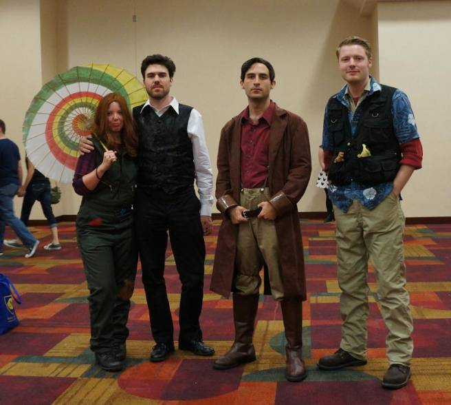 Firefly Group cosplay gencon 2013