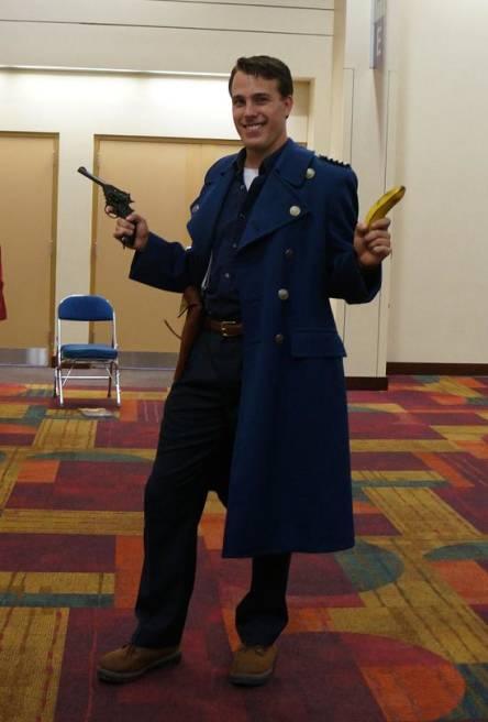 Captain Jack Harkness Gencon 2013 cosplay