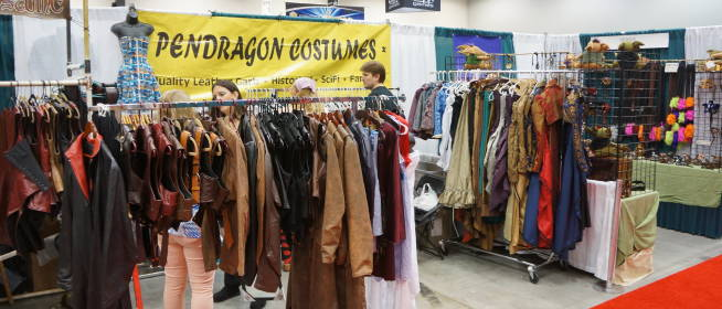 Pendragon Costumes at Gen Con 2013