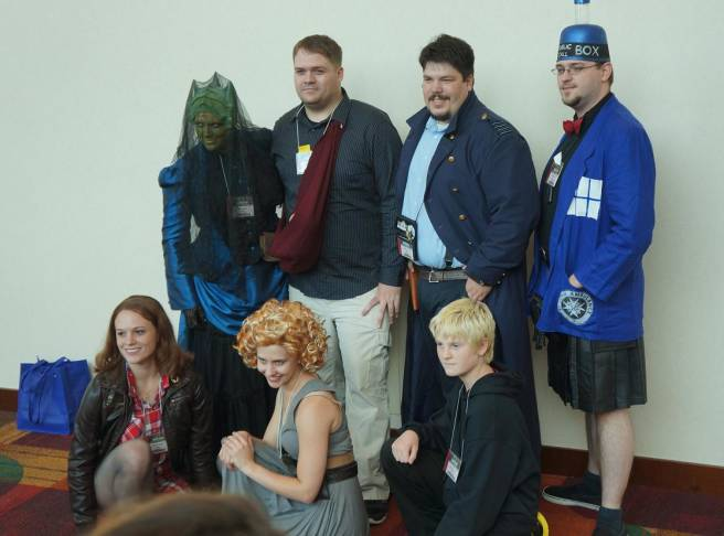 Doctor Who characters Gencon cosplay