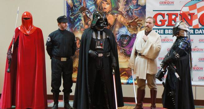 Star Wars Gencon Cosplay